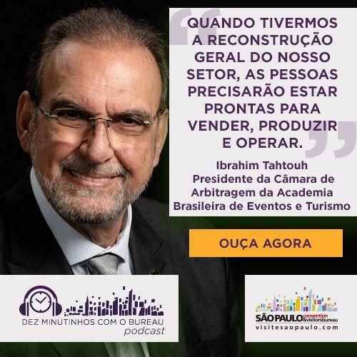 Ibrahim Tahtouh – Acadêmico da Academia Brasileira de Eventos e Turismo