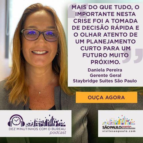Daniela Pereira – Gerente Geral do Staybridge Suites São Paulo