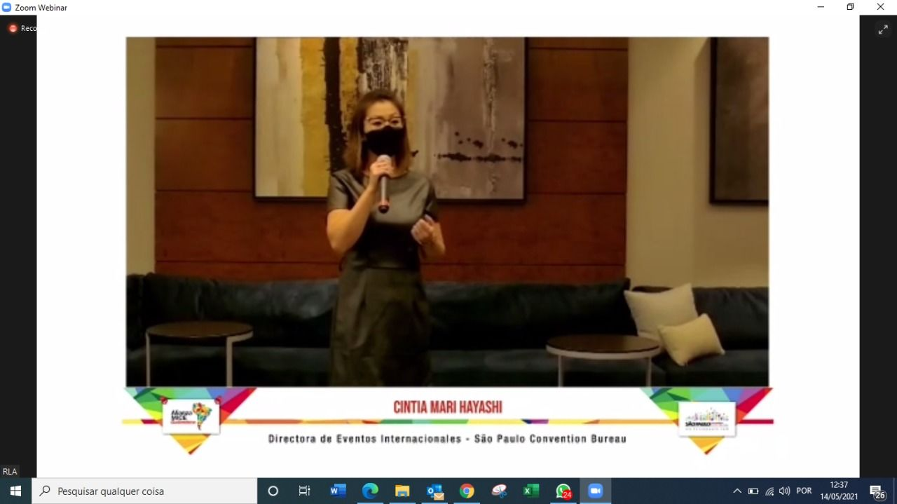 """SPCVB apresenta os resultados da pesquisa de reativação """"Rumo à nova indústria de eventos"""", realizada pela Alianza MICE Sudamerica"""